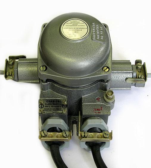 Коробка клеммная рудничная ККР-3