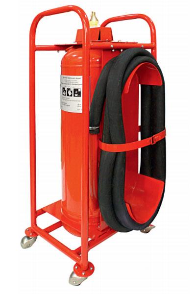 Ручной огнетушитель для складов ГСМ и бензозаправочных станций